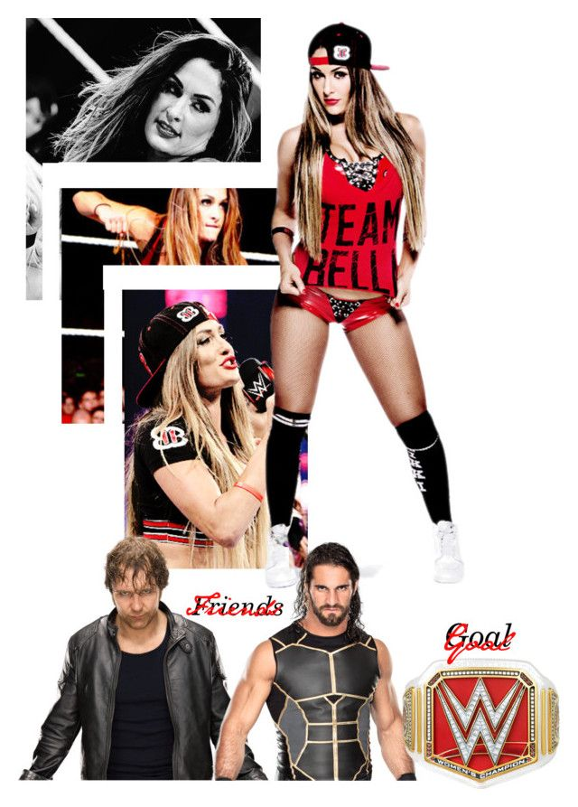 """My Woman Wrestler, Nikki Bella - @jet-black-fart"" by caton-486 ❤ liked on Polyvore"