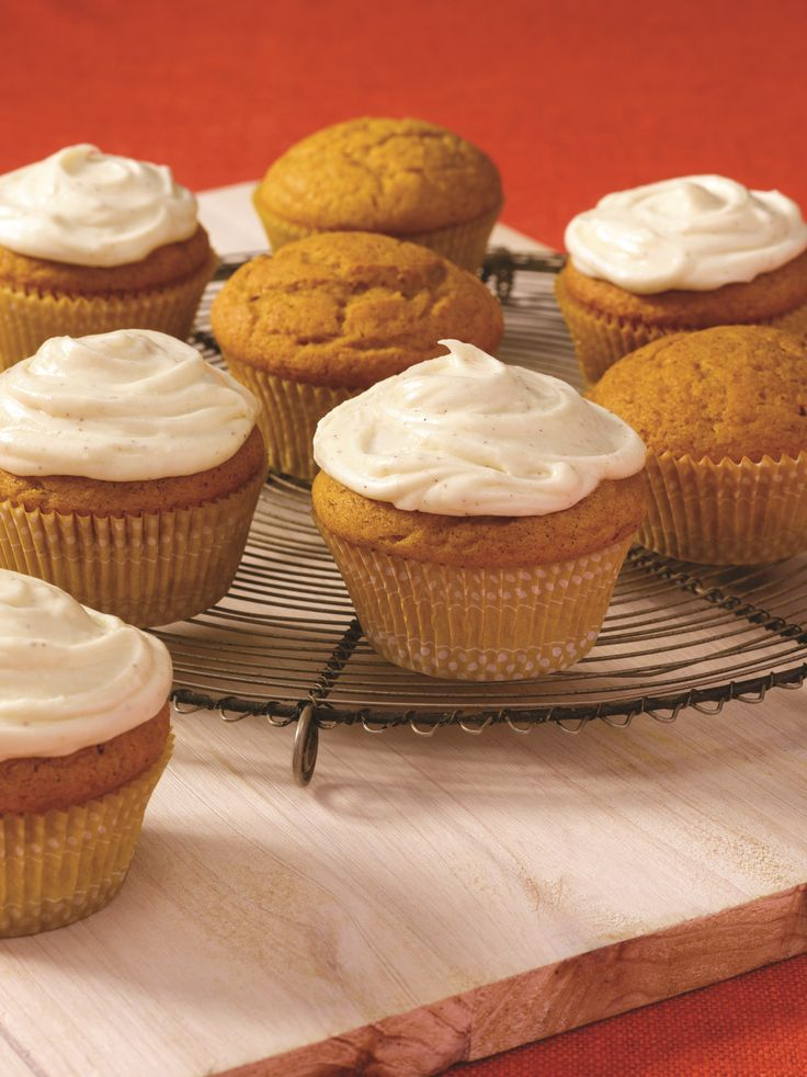 Start with yellow cake mix; add a cup of pumpkin, spices and vanilla pudding mix for a tasty fall treat. #recipe