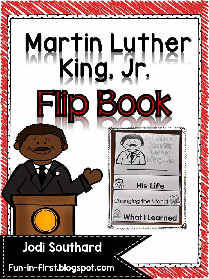 Martin Luther King, Jr. Flip Book FREEBIE