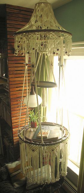 macrame~bringing bohemian back ... some things should have been left to the 70's