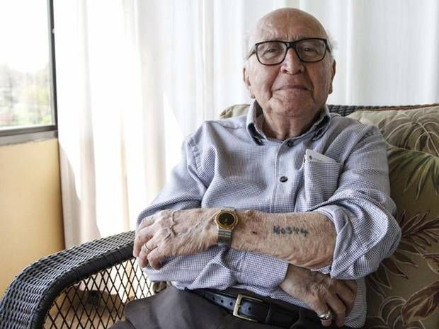 The Holocaust survivor and the 'Lucky Lie' that saved his life - Europe - World - The Independent
