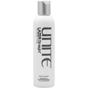 A unique straightening cream that leaves the hair soft and moveable.  Carly's favourite.