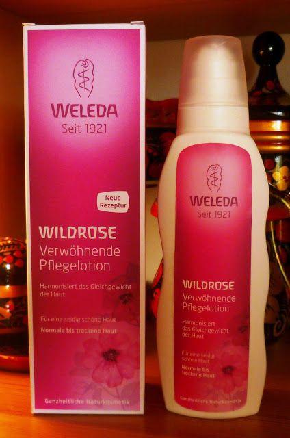 German Beauty Blog / Германский бьюти-блог: Уход за телом: Weleda Wildrose Verwöhnende Pflegel...