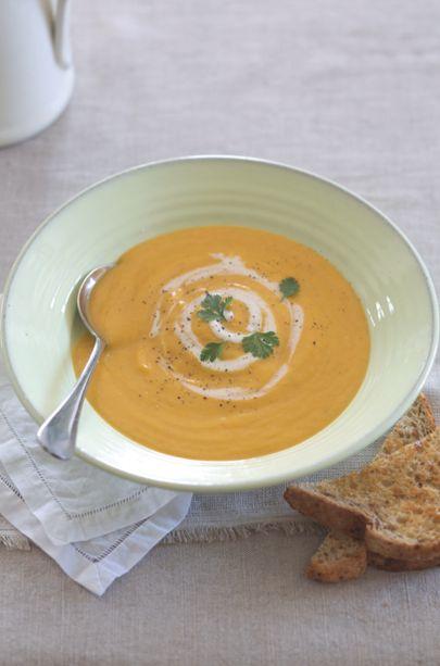 Winter Goodness Pumpkin Soup