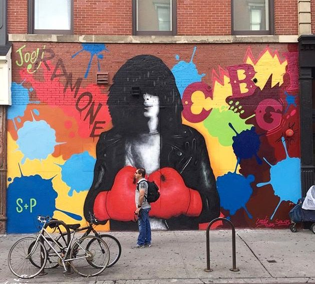 Joey Ramone by Solus + Crash in NYC, 9/15 (LP)