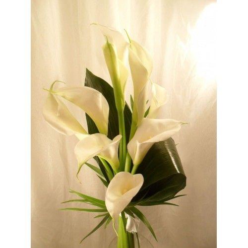 Букет из 7 калл - Доставка цветов в Тирасполе