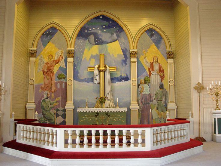 Arvidsjaur-church 4 - Arvidsjaurs kyrka – Wikipedia