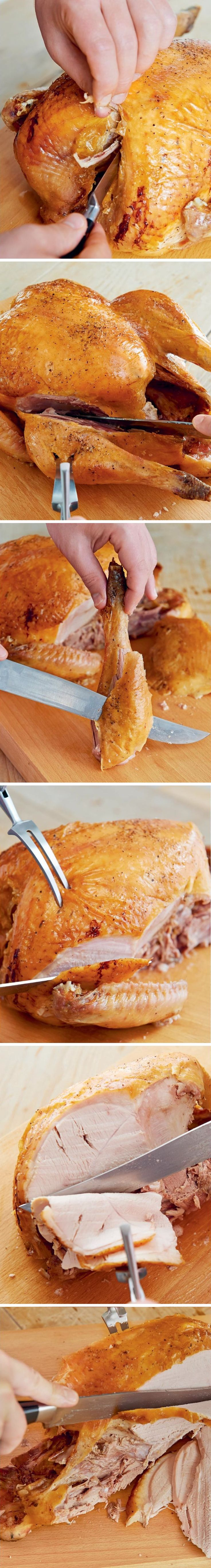 How to Carve Thanksgiving Turkey Like a Pro | Relish.com #Turkey #Thanksgiving