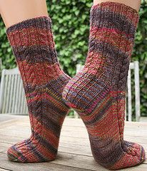 Ravelry: Naive Socks (This Must Be The Socks) pattern by SpillyJane