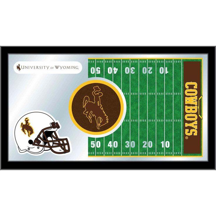 Wyoming Cowboys Football Field Wall Mirror