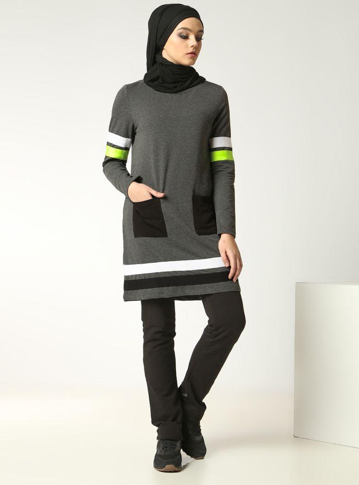 Tesettür Eşofman - Designer İslamic Sportswear http://www.mayovera.com/tesettur-esofman-seritli-dinamik