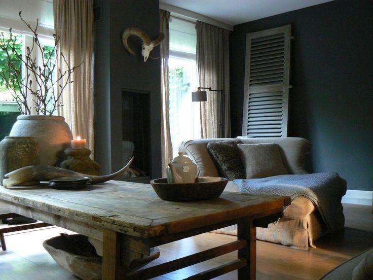 ♡ dit kleurtje wil ik voor mijn muren in de woonkamer ook.