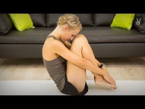 Pilates Bauchübungen für Anfänger - YouTube