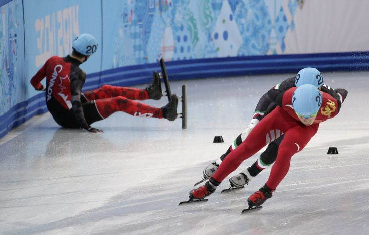 SCANDAL: Jae Su Chun, former U.S. speed skating coach, told one of his skaters to sabotage the skate of a Canadian rival at a meet in Poland in 2011.  Chun used to be the coach of the Canadian short-track team. Simon Cho, admitted that he bent the blade of Oliver Jean, and received a two-year ban of his own.  http://www.nydailynews.com/sports/olympics/smith-overcomes-coaching-scandal-skate-sochi-article-1.1604312