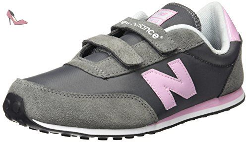 New Balance Ke410 Youth, Baskets mode fille, Gris (Dpi Grey/Pink), 35 - Chaussures new balance (*Partner-Link)