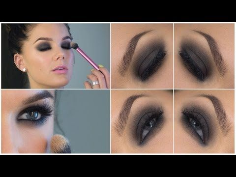 Videotutorial � Brown smokey eyes