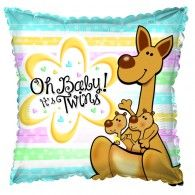 45cm Oh Baby! It's Twins $9.95 (filled with Helium in store) H414007