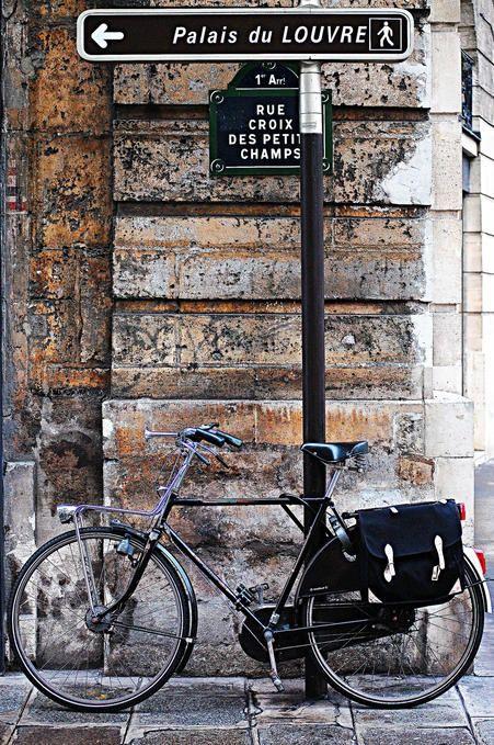 Paris #paris #bicycle #bike