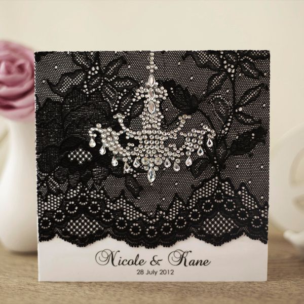 Classic Black & White Elegance from Dabble Indesign...