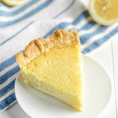 Old Fashioned Buttermilk Lemon Pie Bunny S Warm Oven In 2020 Lemon Recipes Buttermilk Recipes Delicious Pies