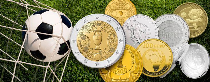 Fußballmünzen, Fußballersprüche - Für die einen Freude en gros, für die anderen Haare raufen und Tränen der Enttäuschung – die Fußball-EM. Gefühle pur. Das lässt niemanden ...