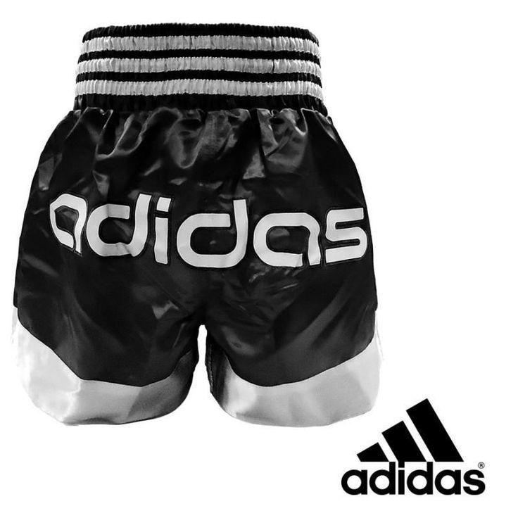 Short ADIDAS THAI-BOXING Negro y Blanco - €28.90   https://soloartesmarciales.com    #ArtesMarciales #Taekwondo #Karate #Judo #Hapkido #jiujitsu #BJJ #Boxeo #Aikido #Sambo #MMA #Ninjutsu #Protec #Adidas #Daedo #Mizuno #Rudeboys #KrAvMaga #Venum