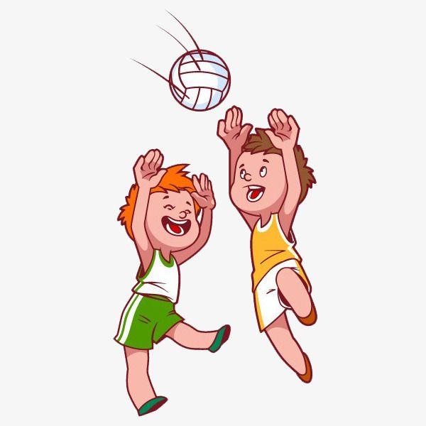كرتون اطفال يلعبون الكرة الطائرة قصاصات فنية كرة الطائرة رسوم متحركة Png وملف Psd للتحميل مجانا Beach Cartoon Cartoon Clip Art Kids Clipart