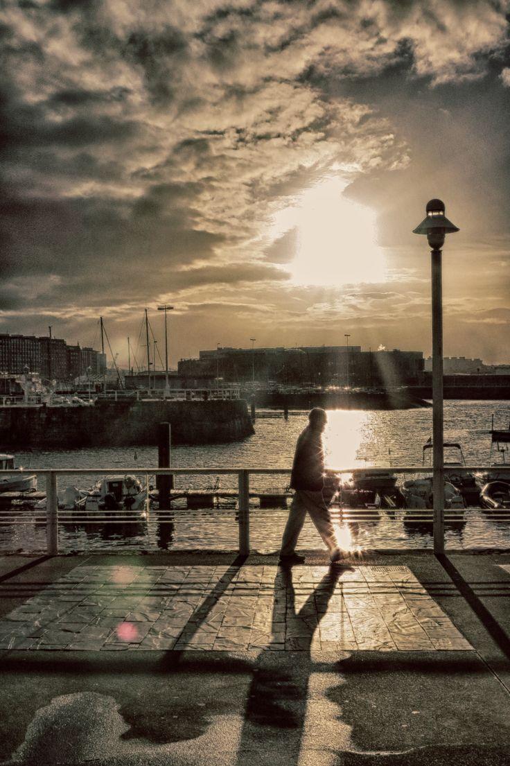Walk at sunset #walk #sunset