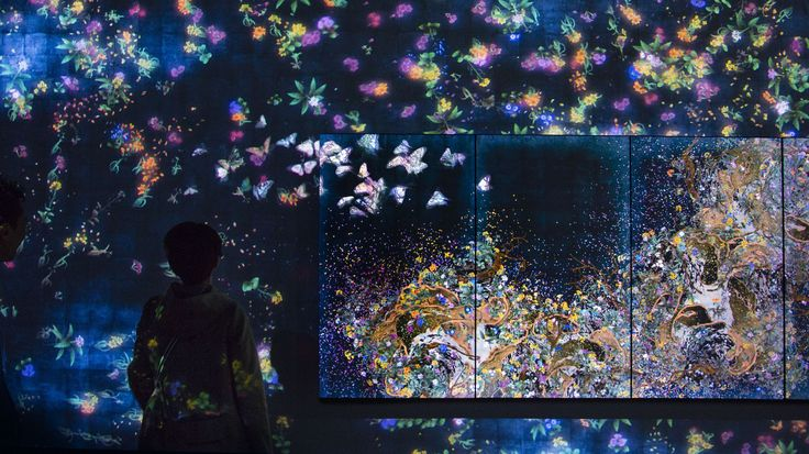 Flutter of Butterflies Beyond Borders / 境界のない群蝶 | teamLab / チームラボ