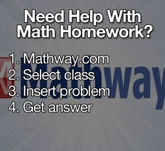 need help in your math class?? I tried this & it really works!