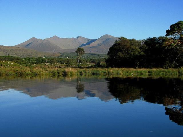 Caragh lake in Glencar,Co.Kerry     photo by Glencar House