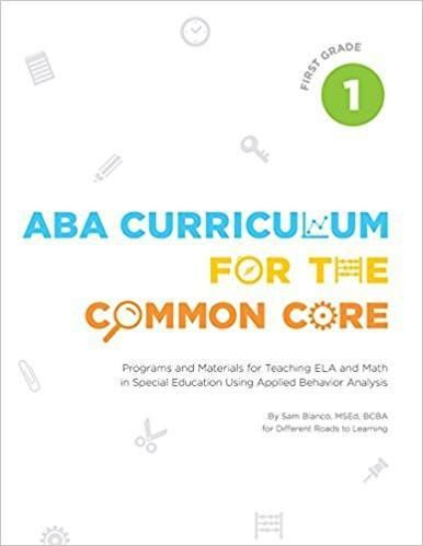 ABA Curriculum for the Common Core - First Grade