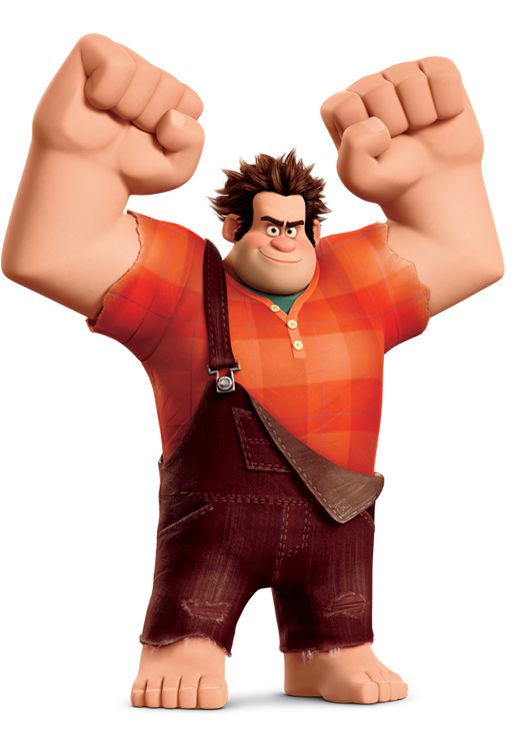Day 5: Favourite Hero. Wreck-It Ralph. Just because he is a bad guy doesn't mean he isn't a hero.