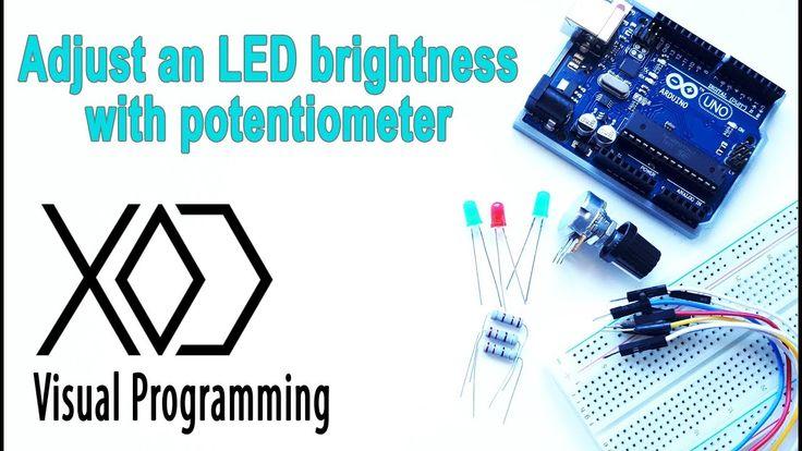 how to change potentiometer range arduino