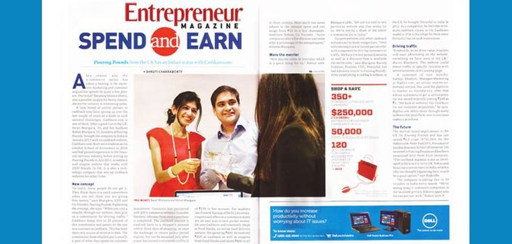 Such a proud moment for Cashkaro.com! We have been featured in this week's Entrepreneur magazine! It is available on the stands now all over India! Check out how Cashkaro is enabling thousands of people to save money in India and how you can start earning Cashback for yourself too! Sign-up Free here - https://cashkaro.com/join-free-now/r=9165