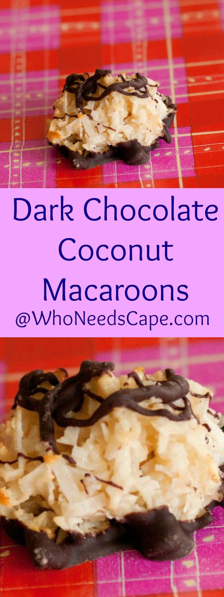 ... Coconut Macaroons on Pinterest | Coconut macaroons, Macaroons and