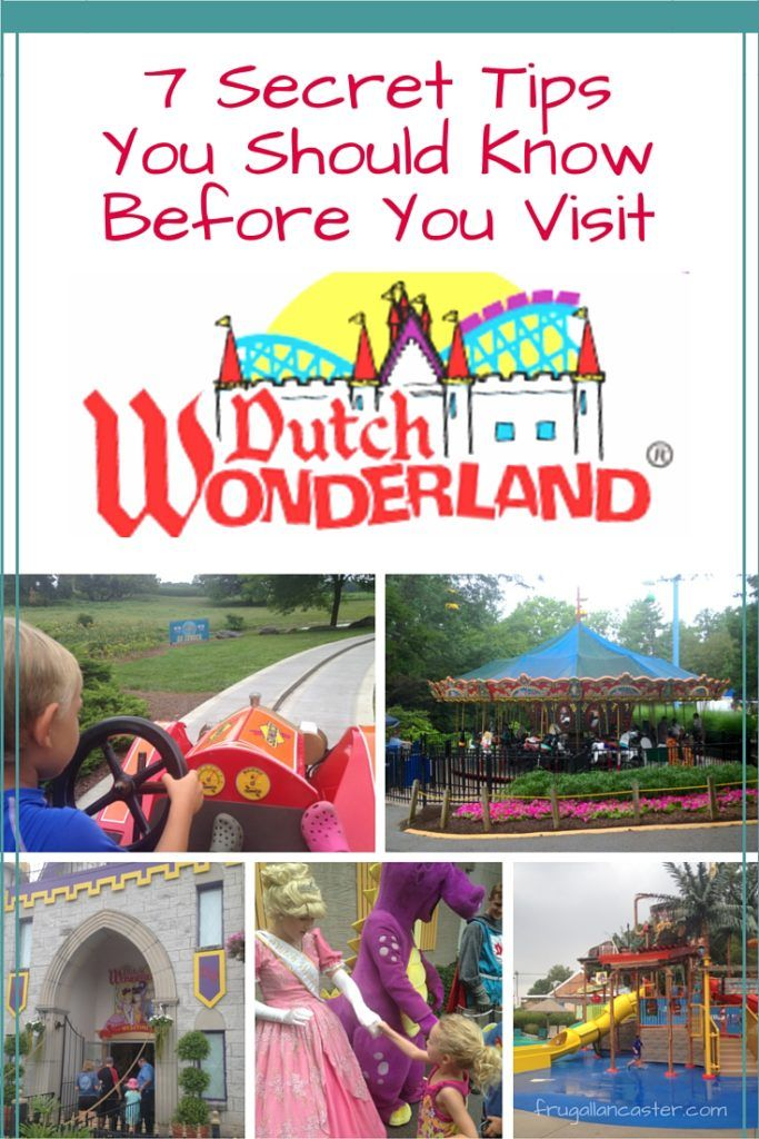 We are privileged to know an insider who works at Dutch Wonderland Amusement Par…Frugal Lancaster | Family, Faith, Food, Frugal Life, Save Money