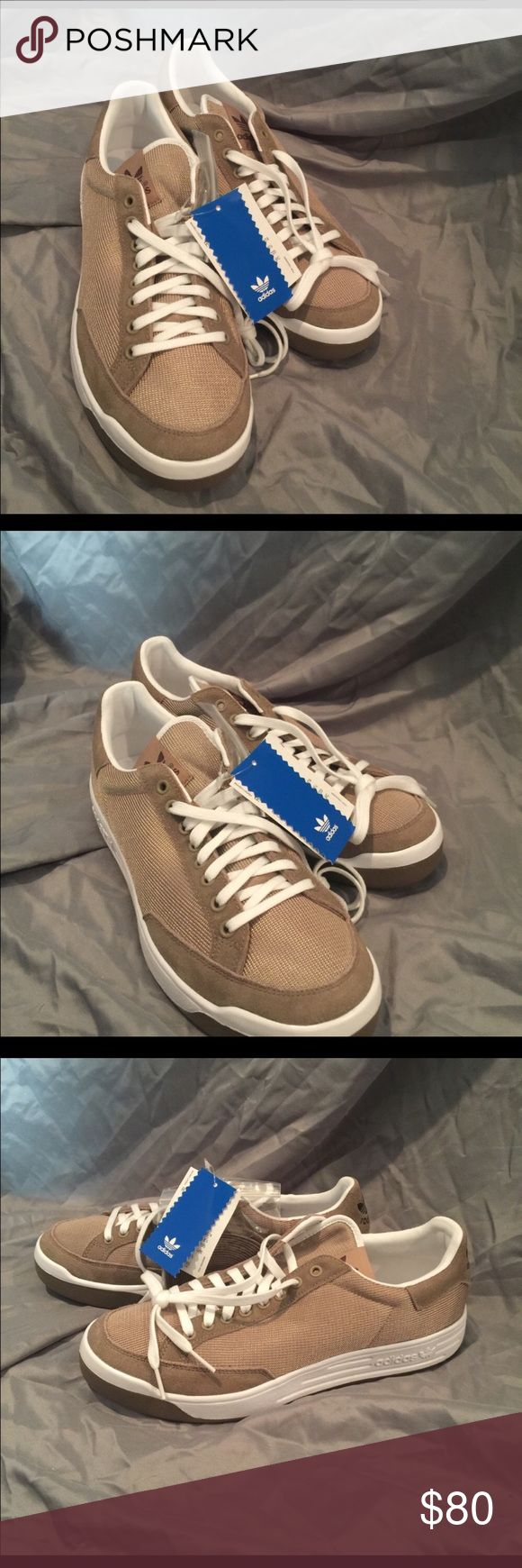 Adidas Rod Laver in Sand/Khaki These are men's shoes, size 9 which is women's 10.5. Brand new with tags. Iconic! adidas Shoes Sneakers