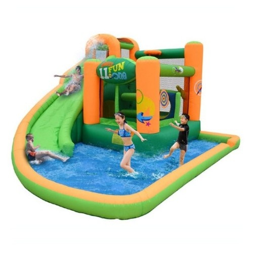 Inflatable Bounce House and Water Slide Combo | eBay #ebay #bouncehouse #kidsgifts
