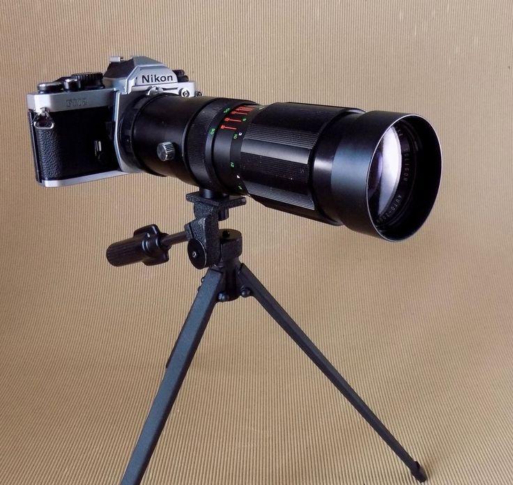 Soligor Zoom Lens for Nikon F, f 90mm - 230mm, 1:4.5 with Skylight Filter #Soligor