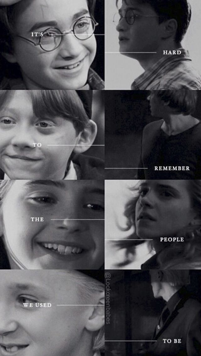 (HP) + (then and now) = (this is depressing)