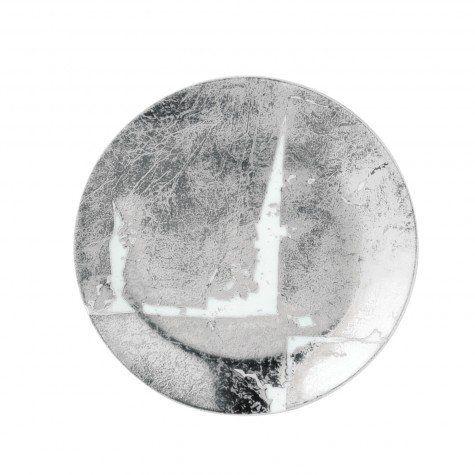 Bernardaud Silver Leaf Dinnerware