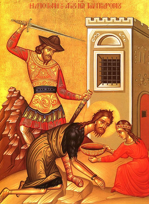 The Beheading of the Holy Glorious Prophet, Forerunner, and Baptist John - Orthodox Church in America