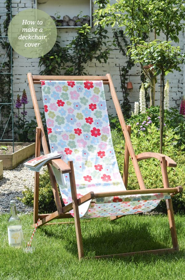 How to make a deckchair cover