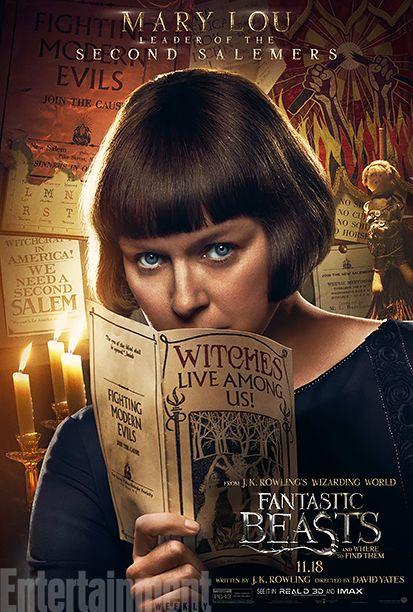 Samantha Morton as Mary Lou Barebone #FantasticBeasts