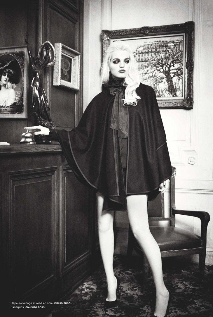 #145 (08.13.) photo: Ellen von Unwerth model: Daphne Groeneveld stylist: Samuel Francois
