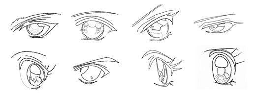 Глаза аниме