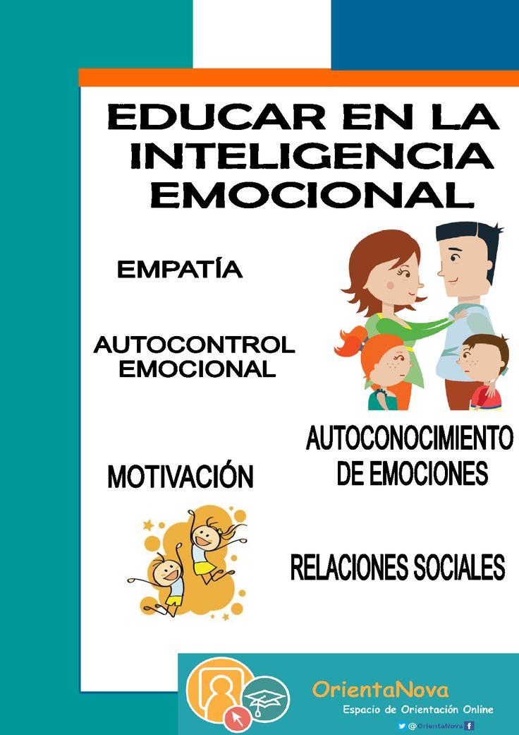Colección de entradas sobre cómo educar en la inteligencia emocional.Pautas para padres/madres. No te las pierdas. www.orientanova.com