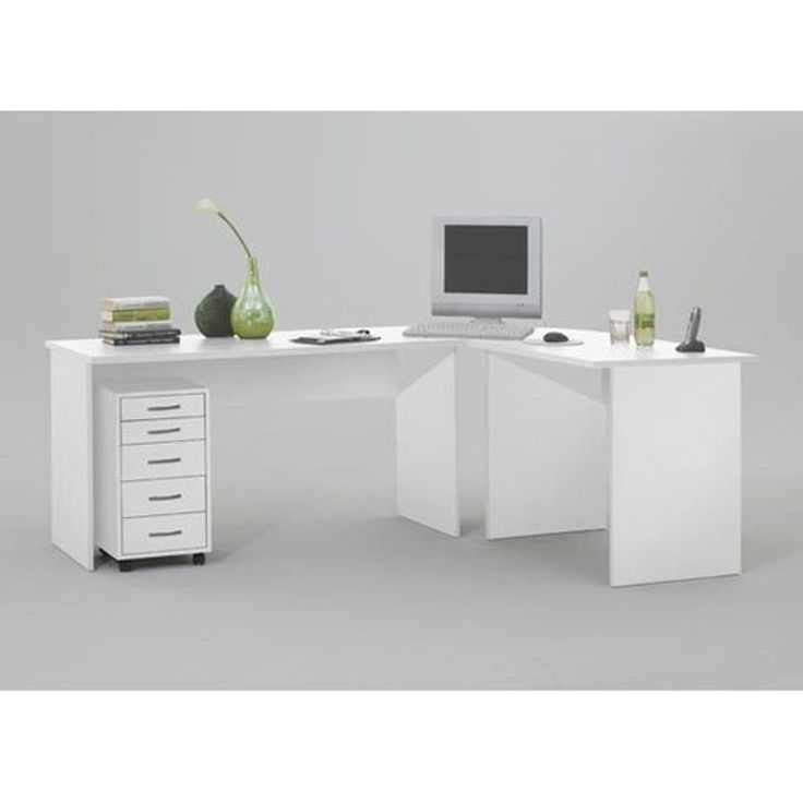 Large White Corner Desk   Guest Desk Decorating Ideas Check More At Http://