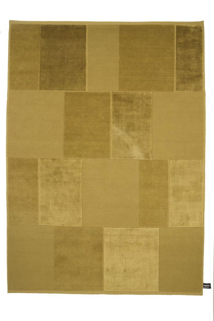 Tappeto rettangolare CASELLARIO MONOCROMO by cc-tapis ® design PARISOTTO FORMENTON